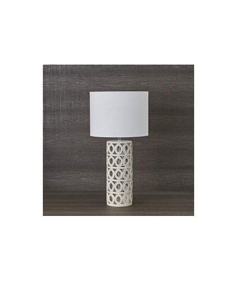CARILLON LAMPADA TRAFORATA BIANCA