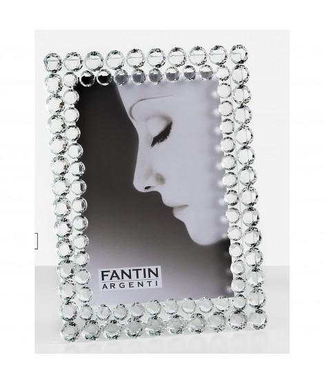 FANTIN PORTAFOTO IN CRISTALLO PERLE CM 10 X 15